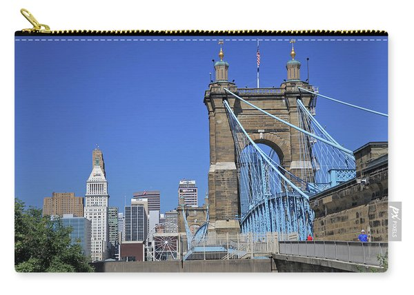 Roebling Bridge Carry-all Pouch