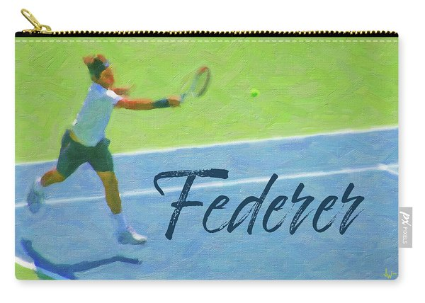 Roger Federer 1 Carry-all Pouch