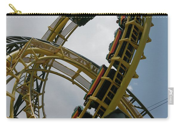 Roller Coaster Loops Carry-all Pouch