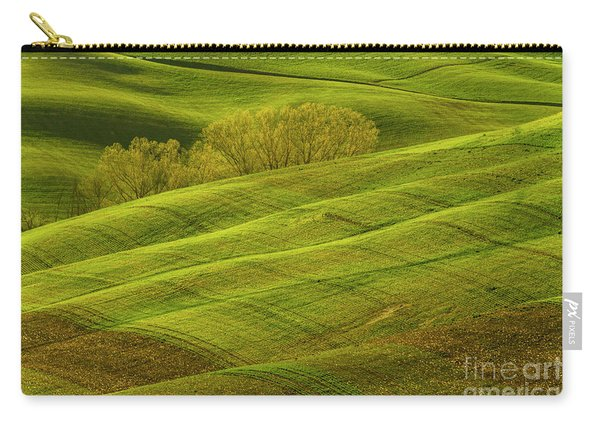 Rolling Grassy Landscape Tuscany-1 Carry-all Pouch