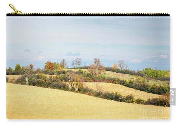 Rolling Hills In Fall Carry-all Pouch