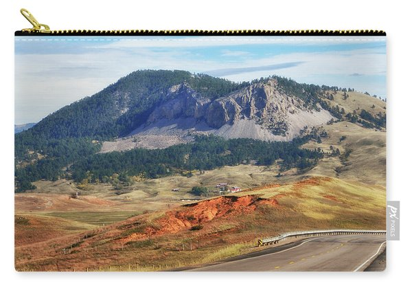 Rolling Hills In Wyoming Usa Carry-all Pouch