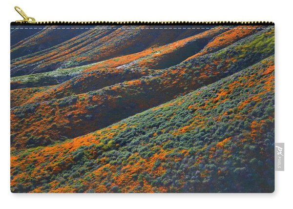 Rolling Hillsides Of Color Carry-all Pouch