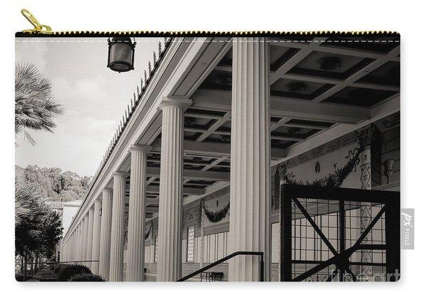 Roman Column Exterior Getty Villa  Carry-all Pouch