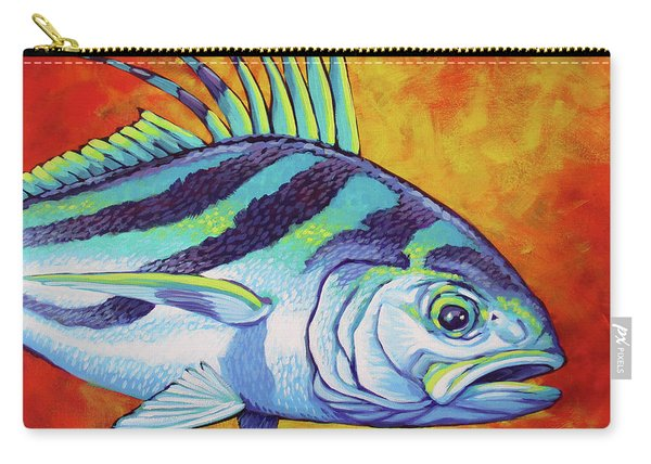 Rooster Fish 2 Carry-all Pouch