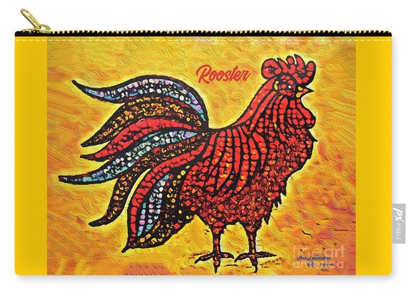 Rooster In The Moring Carry-all Pouch