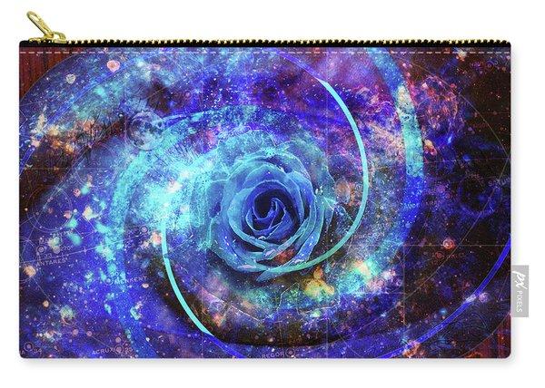 Rosa Azul Carry-all Pouch