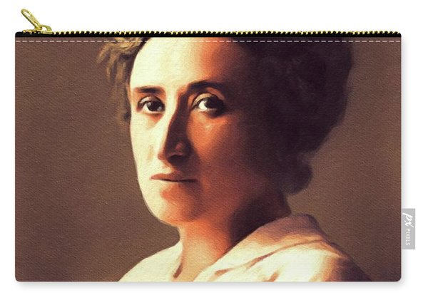 Rosa Luxemburg, Philosopher And Activist Carry-all Pouch