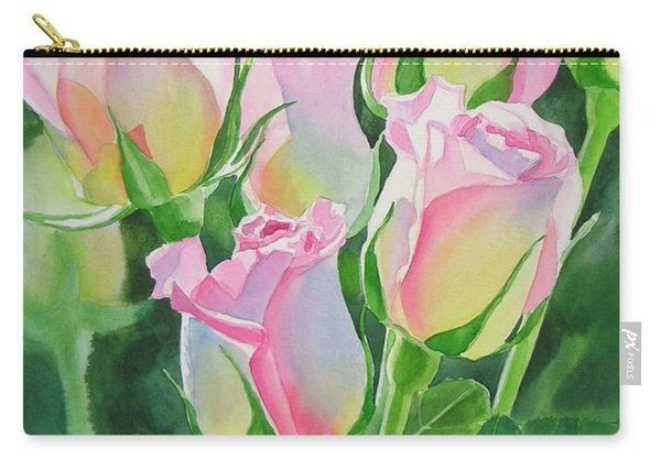 Rose Array Carry-all Pouch