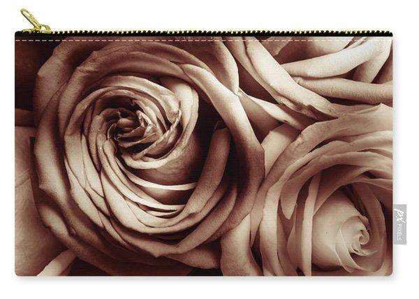 Rose Carmine Carry-all Pouch