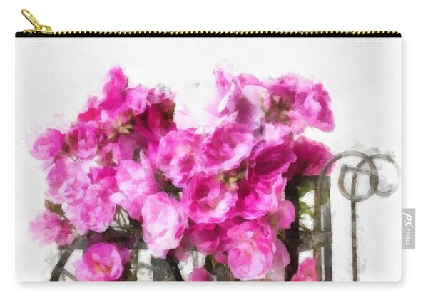 Rose Cart  Carry-all Pouch