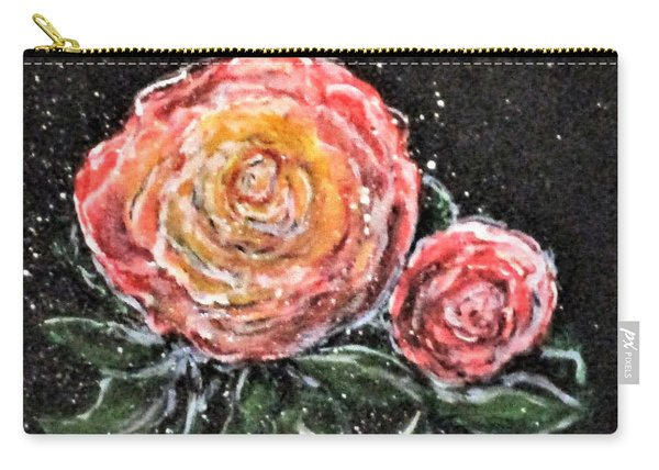 Rose In Light Carry-all Pouch