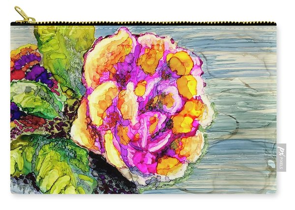 Rose Still Life Carry-all Pouch
