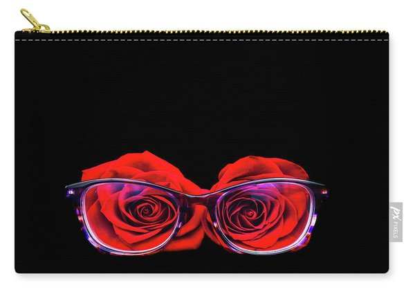 Rosy Vision Carry-all Pouch