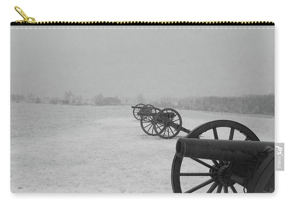 Row Of Cannon Carry-all Pouch
