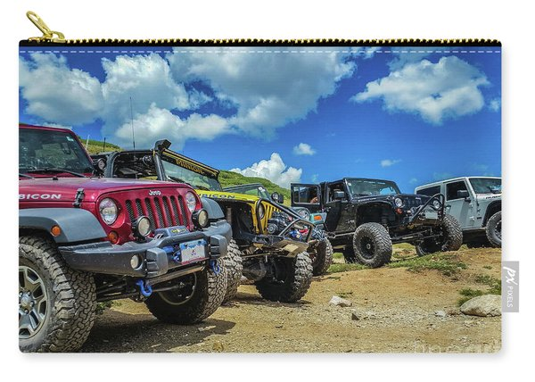Row Of Jeeps Carry-all Pouch