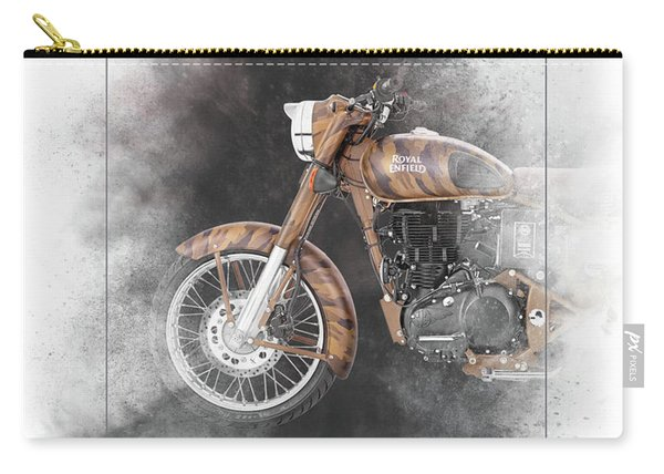 Royal Enfield Classic Desert Storm Painting Carry-all Pouch