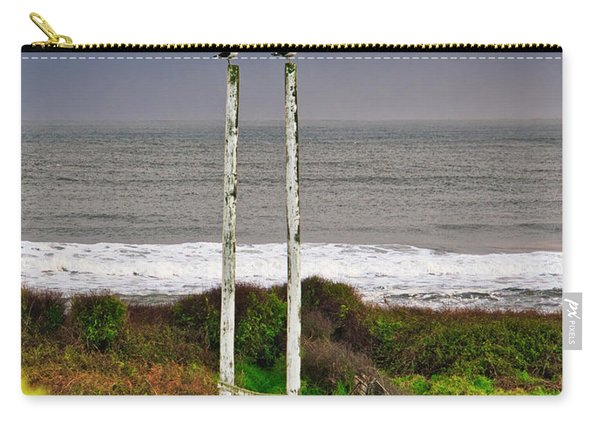 Rugby Goal - Hokitika - New Zealand Carry-all Pouch