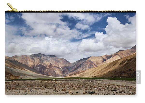 Carry-all Pouch featuring the photograph Rugged Himalayan Mountains by Whitney Goodey