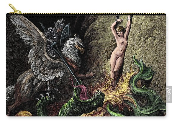 Ruggiero Rescuing Angelica Carry-all Pouch