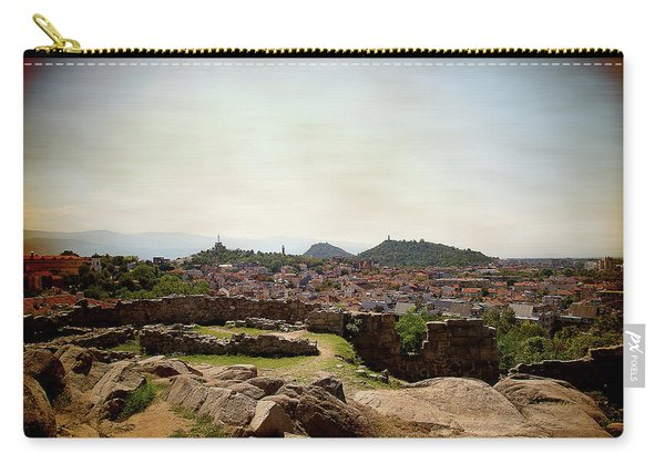 Ruins On The Top Of The Hill Carry-all Pouch