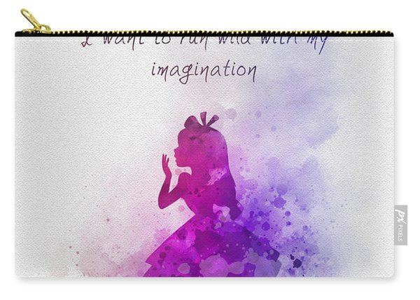 Run Wild With Your Imagination Carry-all Pouch