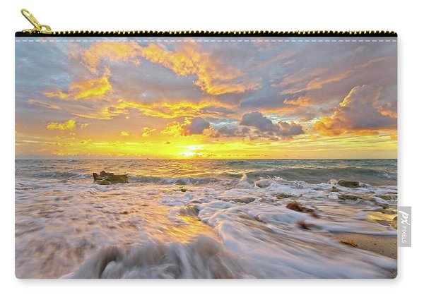 Rushing Surf Carry-all Pouch