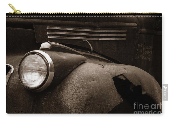 Rusty Old Farm Truck 1335 Carry-all Pouch