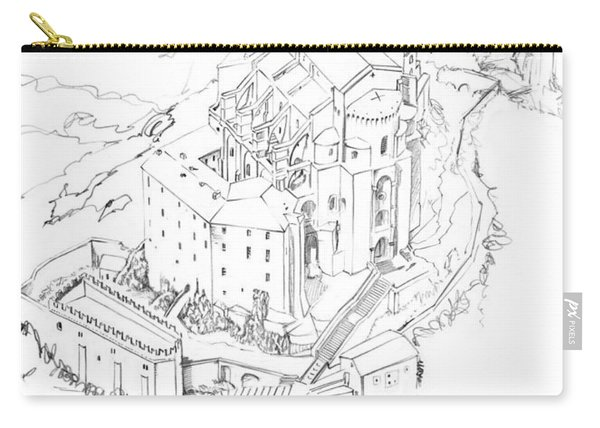 Sacra San Michele Pencil Carry-all Pouch