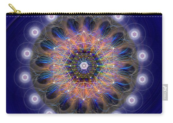 Sacred Geometry 726 Carry-all Pouch