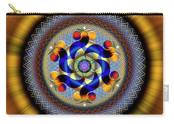 Sacred Geometry 740 Number 1 Carry-all Pouch