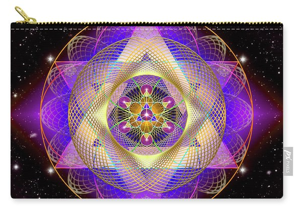 Sacred Geometry 741 Carry-all Pouch