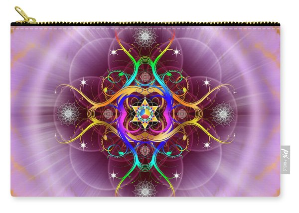 Sacred Geometry 757 Carry-all Pouch