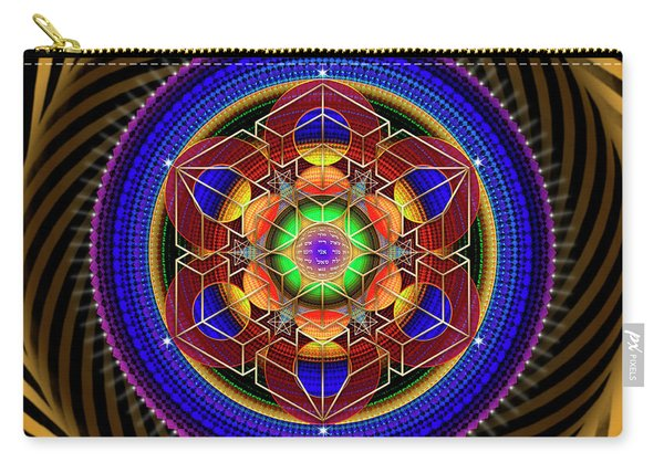 Sacred Geometry 763 Carry-all Pouch