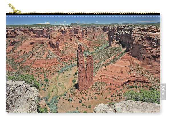 Sacred Spider Rock Carry-all Pouch