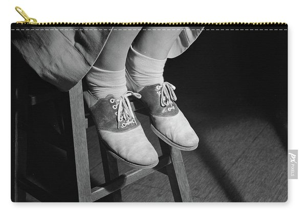 Saddle Shoes Of High School Teenage Girl, 1943 Carry-all Pouch