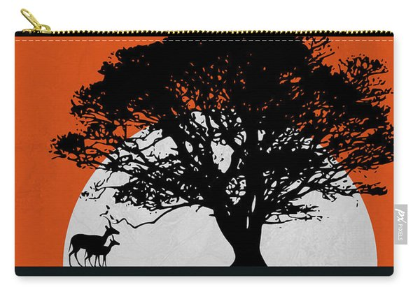 Safari Sunset Carry-all Pouch