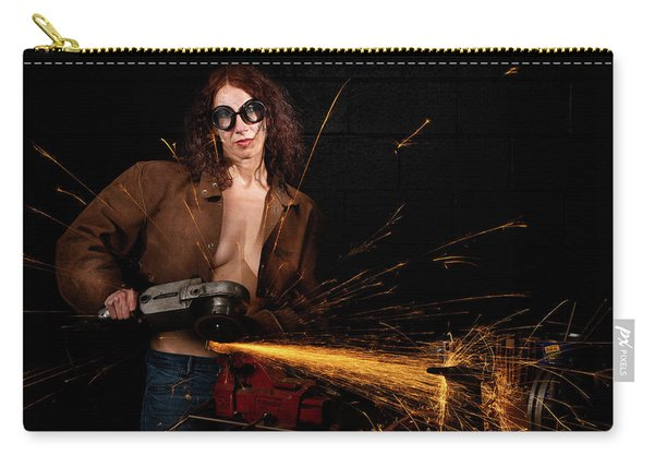 Carry-all Pouch featuring the photograph Light Em Up by Dennis Dame