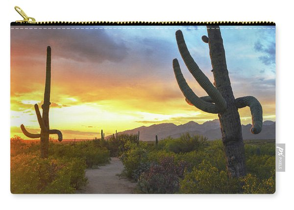 Saguaro Trail Carry-all Pouch