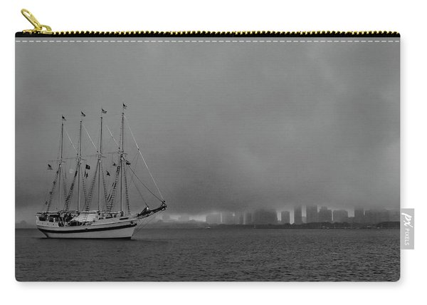 Sail In The Fog Carry-all Pouch