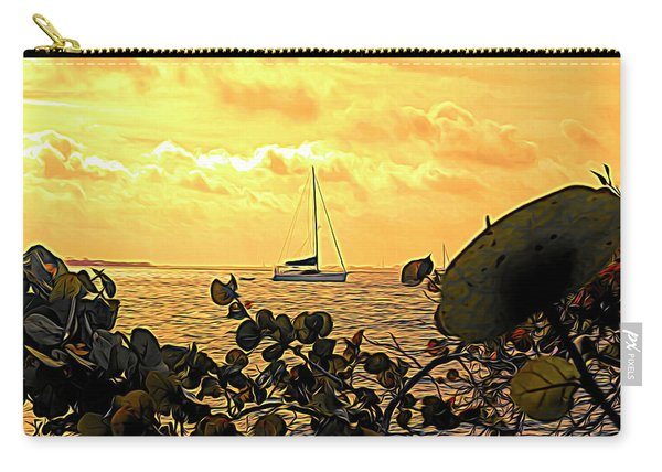 Sail The Manatee River Carry-all Pouch
