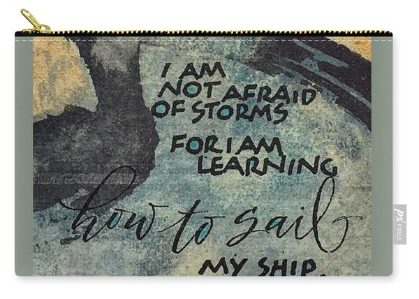 Sail Your Ship Carry-all Pouch