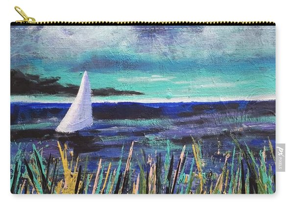 Sailboat Drifting Carry-all Pouch