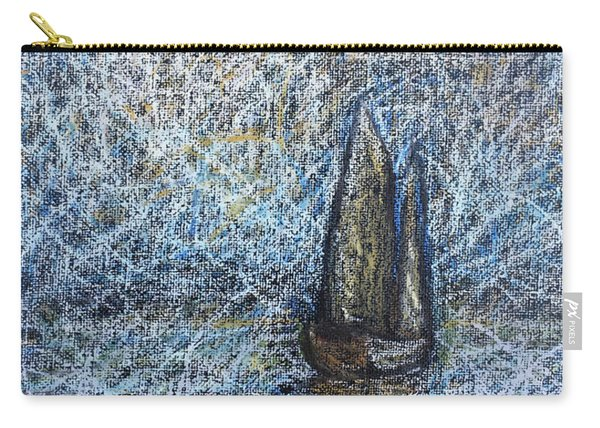 Sailboat In The Mist Carry-all Pouch
