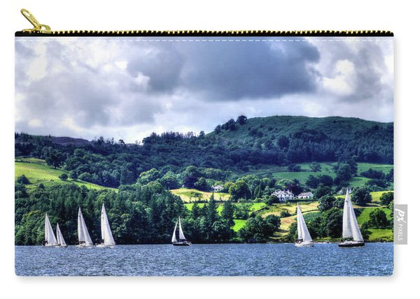 Sailing In Heaven Carry-all Pouch