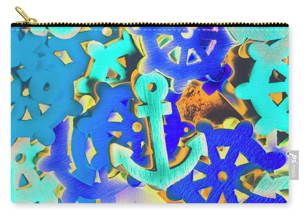 Sailing Pop Art Carry-all Pouch