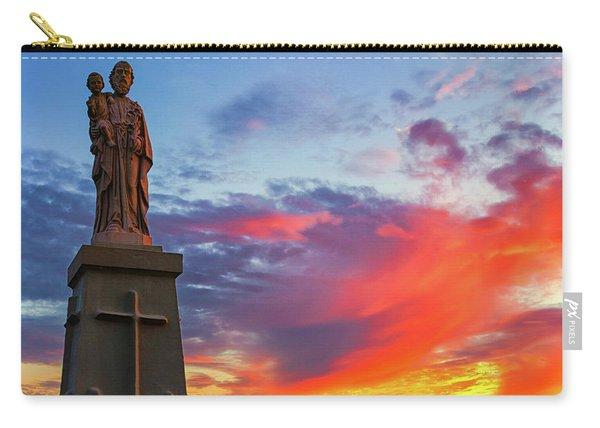 Saint Joseph Sunset  Carry-all Pouch