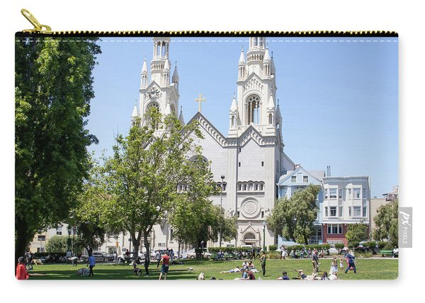 Saints Peter And Paul Church At Washington Square Park On Filbert Street San Francisco R669 Sq Carry-all Pouch