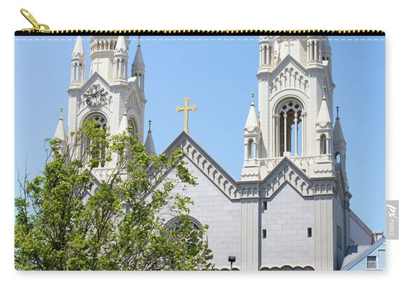 Saints Peter And Paul Church At Washington Square Park On Filbert Street San Francisco R670 Carry-all Pouch