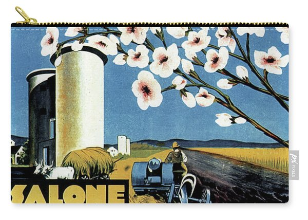 Salone Delle Macchine Agricole - Padova, Padua, Italy - Retro Travel Poster - Vintage Poster Carry-all Pouch
